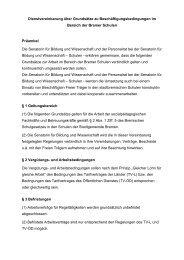 Dienstvereinbarung ü#6A0960 - Personalrat Schulen Bremen