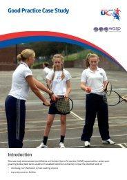 Good Practice Case Study - sports coach UK