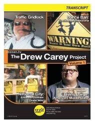 The Drew Carey Project, Volume 1 Transcript - Izzit.org