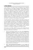 the department of orang asli affairs, malaysia - Asian Indigenous ... - Page 6