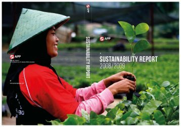 APP Sustainability Report 2008-2009 - Asia Pulp and Paper