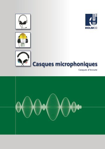 Casques microphoniques - HOLMCO