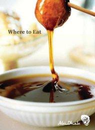 Where to Eat - Visit Abu Dhabi
