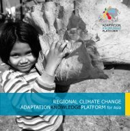 Brochure - Regional Climate Change Adaptation Knowledge ...