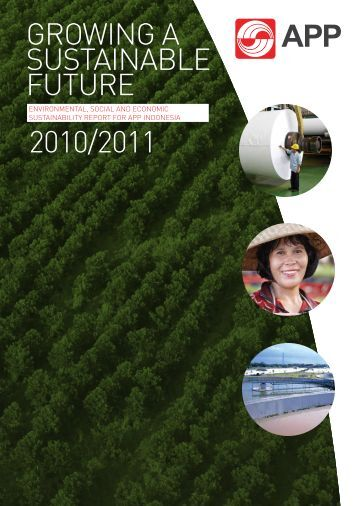 latest Sustainability Report - Asia Pulp and Paper