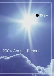 2004 Annual Report - Day