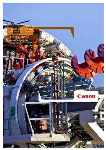 Reducen un 14 % sus costes de impresión y ... - Canon España