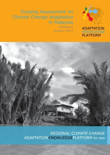Scoping Assessment on Climate Change Adaptation in Malaysia
