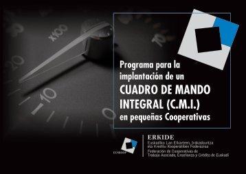 CUADRO DE MANDO INTEGRAL (C.M.I.) - Erkide