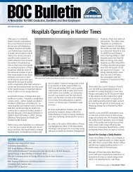 Hospitals Operating in Harder Times - Building Operator Certification