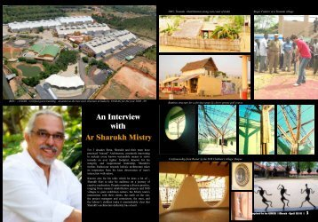 An Interview with Ar Sharukh Mistry - Inspired to be Green