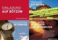FRÜHLING AUF BÖTZOW FÜHRUNGEN IN DEN ... - Duderstadt 2020