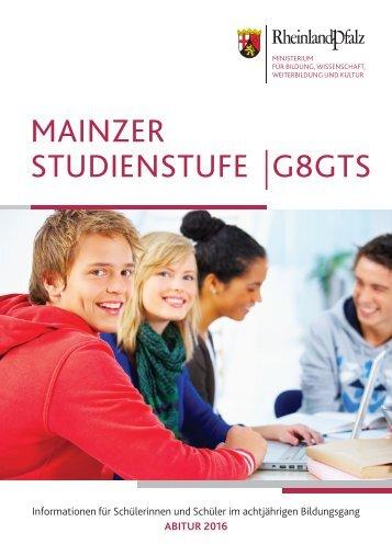 MSS-Broschüre des Bildungsministeriums für das Abitur 2016