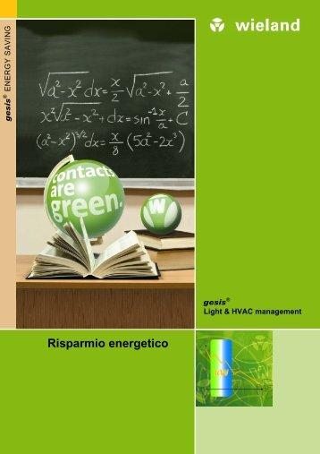 Risparmio energetico - Wieland Electric