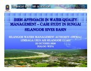 IRBM APPROACH IN WATER QUALITY MANAGEMENT ... - WEPA