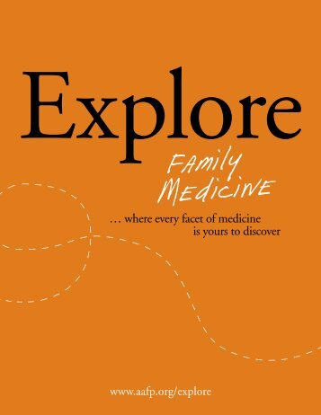 Explore Family Medicine - American Academy of Family Physicians