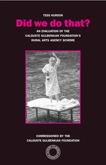 Free PDF of the Book (398 KB) - Calouste Gulbenkian Foundation
