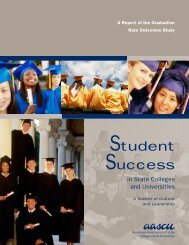 Student Success - Council on Postsecondary Education