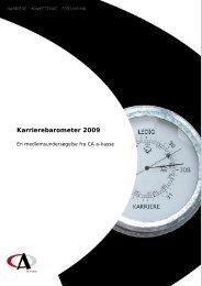 Karrierebarometer 2009 - CA a-kasse
