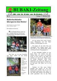 Wir sind die Kinder vom Bullerbach... - MAGIX Website Maker