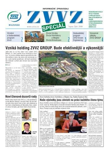 Zpravodaj ZVVZ speciál - ZVVZ a.s.