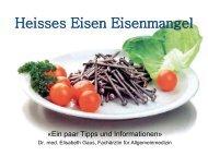 Referat Eisenmangel – Dr. med. Elisabeth Gaus - LZ Lauftreff