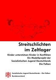 Streitschlichten im Zeltlager - Sozialistische Jugend Deutschlands ...