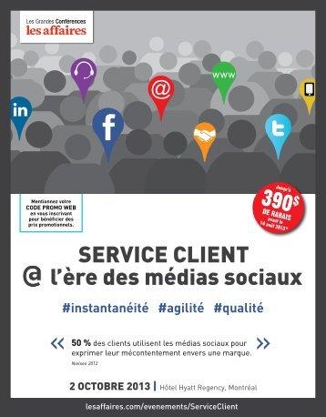 serViCe Client l'ère des médias sociaux - LesAffaires.com