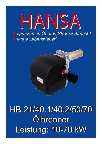 Serie HB - Hansa Brenner