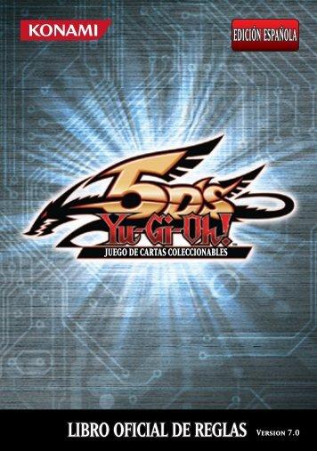 LIBRO OFICIAL DE REGLAS Version 7.0 - Yu-Gi-Oh!