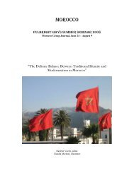 Morocco - The Moroccan-American Commission for Educational and ...