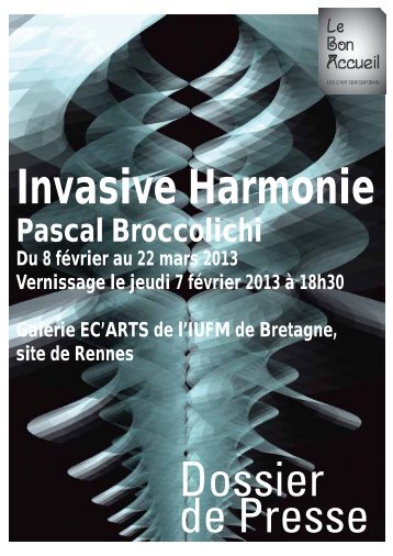 Pascal Broccolichi - Le Bon Accueil