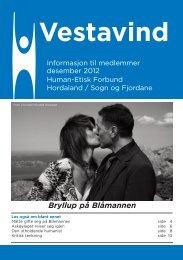 Desember 2012 - Human-Etisk Forbund