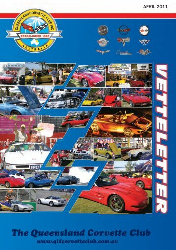 vetteletter april 2011.pdf - qld corvette club inc