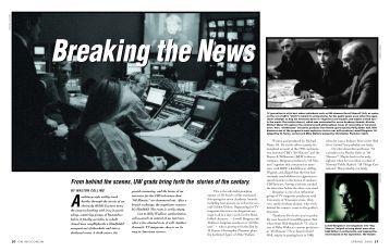 Breaking the News - Wisconsin Alumni Association
