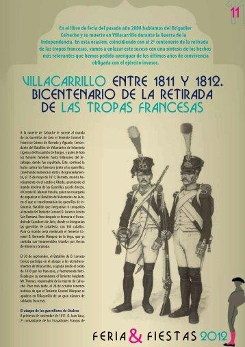 villacarrillo entre 1811 y 1812. bicentenario de la retirada de las ...