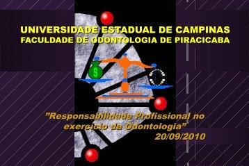 Elaboração de Prontuário Odontológico - Faculdade de Odontologia ...
