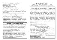 16 septembre 2012 - Paroisse Saint-Saturnin