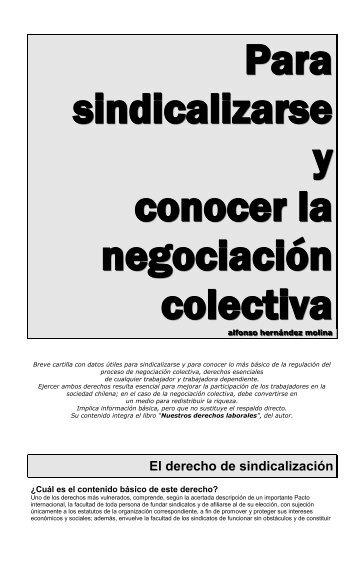 Derecho de sindicación - Luis Emilio Recabarren