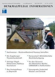 Denkmalpflege Informationen Nr. 155 (Juli 2013) - Bayerisches ...