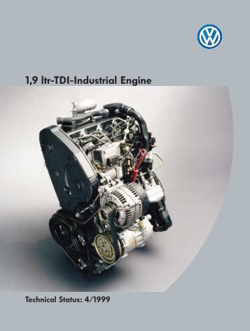 1,9 ltr-TDI-Industrial Engine - Volkswagen Technical Site
