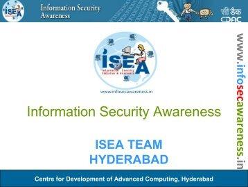 Awareness for Teenagers - Information Security Awareness