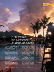 Tania la plongeuse - Magazine Sports et Loisirs