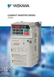 J1000 Inverter Series Manual - Crompton Controls