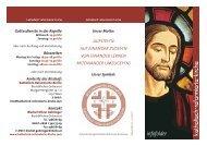 AUF EINANDER ZUGEH'N - katholisch-reformierte-kirche