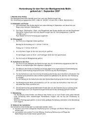 Hortordnung (2007) (24 KB) - .PDF - Molln