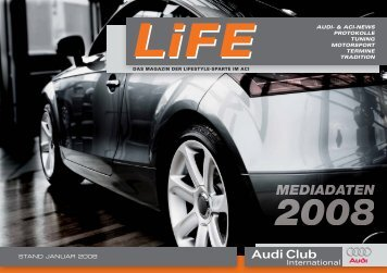 LiFE_Mediadaten - Audi Club International