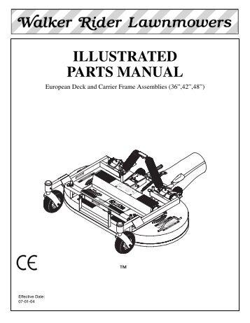 mdd parts manual book walker mowers rh yumpu com Sports Illustrated Customer Service Number Sports Illustrated Customer Service Number