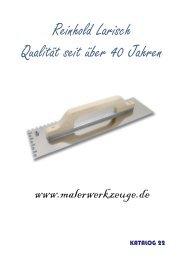 Profiwerkzeuge für Boden, Wand und Decke REILARO-Werkzeuge