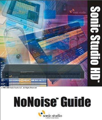 1.8 NoNOISE Guide - Audio Intervisual Design, Inc.